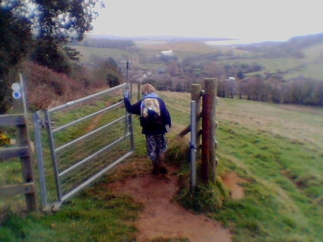The gate way into Abbotsbury 18/02/06