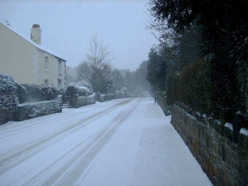 Snow in Heswall